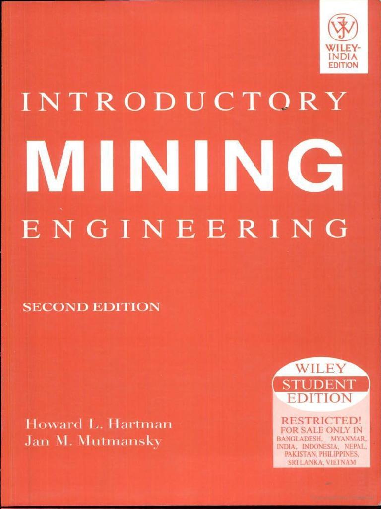Mining pdf introductory engineering