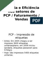 Eficácia e Eficiência Nos Setores de PCP
