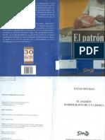 Libro El Patrón Radiografía de Un Crimen (E)