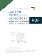 Informe Proceso de Alimentos