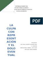 DOLO Y LA CULPA