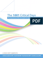1001 Critical Days - The Importance of the Conception to Age Two Period Refreshed_0