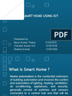 Final Year Project Iot Home Automation
