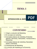 Tema 1 Introducción Al Marketing
