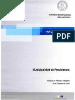 Informe Final 625-16 Municipalidad de Providencia