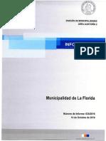 Informe Final 635-16 Municipalidad de La Florida