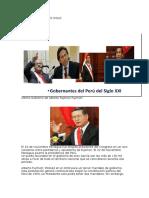 El Perú en El Nuevo Siglo