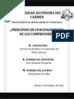 PRINCIPIOS DE LOS COMPRESORES