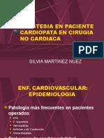 Anestesia en Paciente Cardiopata en Cirugia No Cardiaca