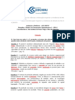 Atividade Da AD1 - 2015 2º - Gabarito HPA I