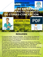 Inventario Ecologico de Comas-concepcion