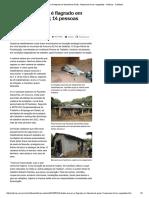 Trabalho Escravo é Flagrado Em Fazenda de Goiás; 14 Pessoas Foram Resgatadas - Notícias - Cotidiano