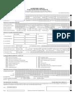 IRDA Reimbursement Claim Form - Hospital Cashless