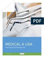 Medical a USA Business Plan