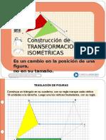 Construccion de Transformaciones Isometricas