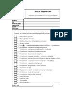 Checklist Medio Ambiente
