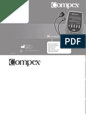 usine authentique gros en ligne sur des coups de pieds de Compex Mi-fitness Fr, De, It, En, Es, Nl | Contraction du ...