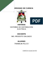 Trabajo # 4. Franklin Pillco Valladolid