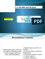 Presentation on Health and Hygiene