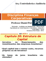 Finanças Corporativa - Estrutura de Capital