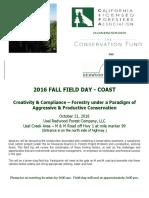 Fall Field Day Coast Flyer Registration Form PDF