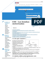 E40 - Las Bombas Motorizadas - Wikiwater