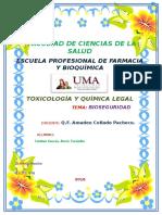Informes de Bioseguridad