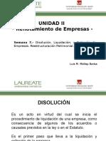 Disolución, Liquidación y Extinción de Empresas