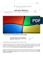 0-7 Trucos Para Que Tu Ordenador Windows Vaya Más Rápido