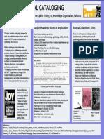 Radical Cataloging Poster