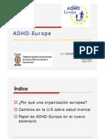 ADHD Europe_Apoyando a Las Personas Con TDAH en Europa