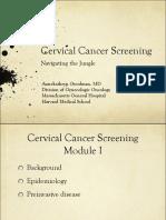 Cervicalcancerscreening Module