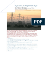 Why Eirgrid's Pylon Grid Link Programme is Illegal