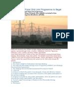 Why Eirgrid's Pylon Grid Link Programme is Illegal