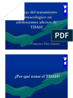 Manejo del tratamiento farmacológico en adolescentes con TDAH_Dr. F. Díaz Atienza