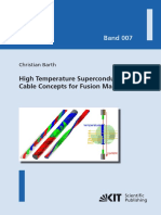Christian Barth High Temperature Superconductor Cable Concepts for Fusion Magnets