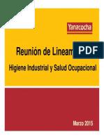 Reuniu00F3n Lineamiento HI&SO - Empresas Contratistas - Marzo 2015 (1)