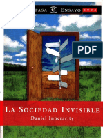 Innerarity Daniel - La Sociedad Invisible