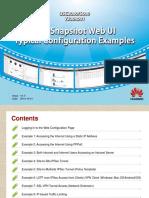 USG2000&5000 V300R001 Full-Snapshot Web UI Typical Configuration Examples(V1.0)