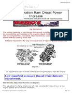 Bosch Diesel Injector Pump Tuning on Land Rover