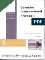 Derecho Internacional Privado 1 6 Semestre