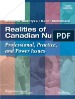 Realities of Canadian Nursing Professional, Practice, And Power Issues.2010 - CD