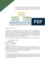 Resumen Org.formal e Informal