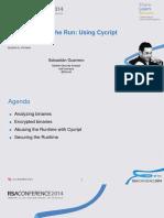 Hta r04a Hacking Ios on the Run Using Cycript