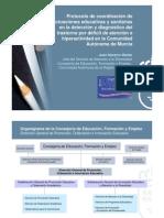 Protocolo de Coordinacion Educación_Sanidad para la detección y diagnóstico del TDAH (II)_Murcia