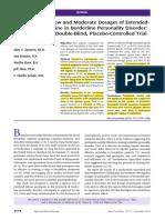 Black 2014 Quetiapine Low vs Moderate Dosing BPD AJP