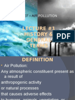 Air polution