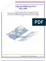 Outsourcing and Offshoring News - May 2008