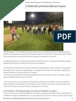 13-10-16 Lanza Gobernadora Pavlovich primera bola en nuevo Estadio de Cajeme. - Opinión Sonora