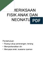 K16 - Pemeriksaan Fisik Anak _ Neonatus 2013